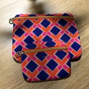 TRINA  TURK make up bags